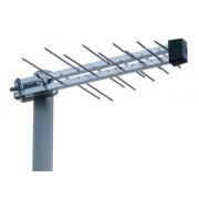 """DVB-T/T2  anténa ISKRA P-20 DTT/G s  """"F"""" a zesilovačem 22,5 dB"""