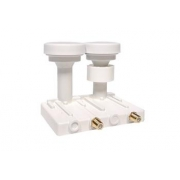 OPTICUM  LNB  Robust MONO TWIN  0,1dB 4,3 st  Gold konektory F