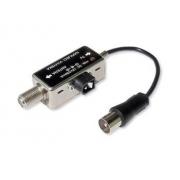 Napájecí vyhýbka F na IEC , LED dioda