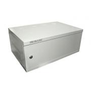 """Kovová rozvodná montážní skříň 19"""" , závěsná ECO 4U 540x350 RAL7035"""