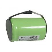 Baterie nabíjecí NiMH 4/5SC 1,2V/2800mAh pásk.vývody 23x34mm