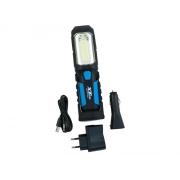 Svítilna montážní nabíjecí LED COBALT 2W + 1 x LED 1W XT60064