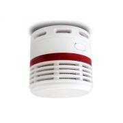 Požární hlásič a minidetektor kouře Hutermann F9, baterie s 10let životností, EN14604