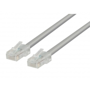 Kabel UTP 1x RJ45 - 1x RJ45 Cat5e 0.5m GREY VALUELINE VLCT85000E05
