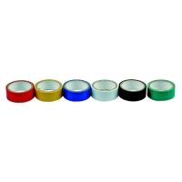 Páska PVC 19 x 0,13 mm x 3 m 6 ks, barevné