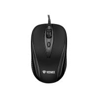 Myš drátová YENKEE YMS 1025BK Quito černá