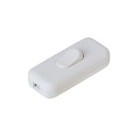 Vypínač mezišňůrový 250V/2,5A bílý