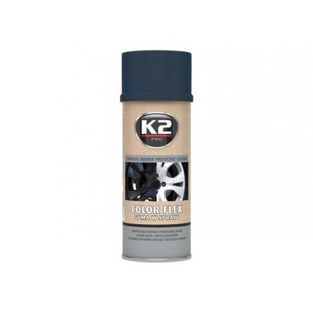Kaučuk syntetický K2 Color Flex 400ml, carbon