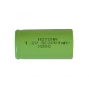 Baterie nabíjecí NiMH SC 1,2V/3000mAh MOTOMA
