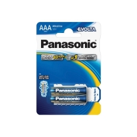 Baterie AAA(LR03) alkalická PANASONIC Evolta 2BP
