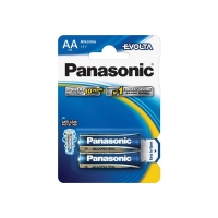 Baterie AA (R6) alkalická PANASONIC Evolta LR6 2BP
