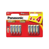Baterie AA (R6) alkalická PANASONIC Pro Power LR6 8BP