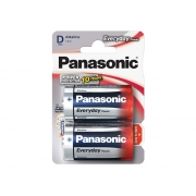 Baterie D (R20) alkalická PANASONIC Everyday Power LR20 2BP