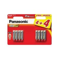 Baterie AAA (R03) alkalická PANASONIC Pro Power 8BP