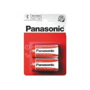 Baterie C (R14) Red  zinkouhlíková, PANASONIC 2BP