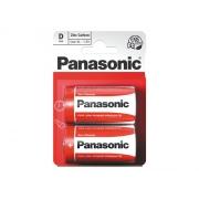 Baterie D (R20) Red  zinkouhlíková, PANASONIC 2BP