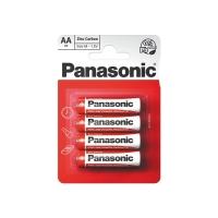 Baterie AA (R6) Zn-Cl PANASONIC Red 4BP