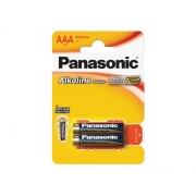 Baterie AAA(LR03) alkalická PANASONIC Alkaline Power 2BP