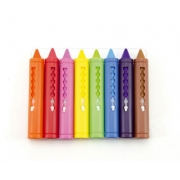 Pastelky do vany TEDDIES barevné