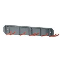 Držák lyží na zeď COMPASS XC-80010 na 3 páry