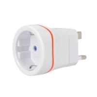 Adaptér cestovní SOLIGHT PA01-UK pro použití z ČR ve Velké Británii