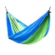 Houpací síť CATTARA NYLON 275x137cm zeleno-modrá