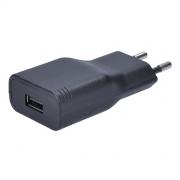 Adaptér, 1x USB, 2400mA, AC 230V, černý DC47