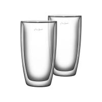 Sklenice LAMART LT9011 VASO cafe latte 2ks 380ml