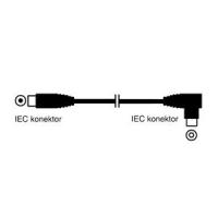 OEM účastnický kabel 10m - přímé konektory IEC