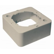 TRIAX instalační krabice pro účastnickou zásuvku na zeď - krémová