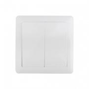 Vypínač Slim č. 5 sériový - lustrový, bílý, SOLIGHT 5B106