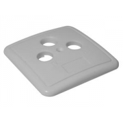 TRIAX víčko pro účastnické zásuvky TV/SAT/R TOU STD3 krémové