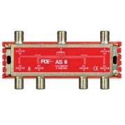 FTE rozbočovač AS 6, rozsah 5-2400 MHz, F-konektor