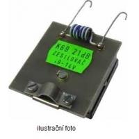 OEM průběžný předzesilovač kanálový 25 dB (K27+44+56) na F-konektory