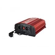 Měnič napětí 12V/230V  600W CZ čistá sinusovka UPS+ nabíječka CARSPA