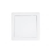 Vypínač Slim č. 6 střídavý - schodišťový, bílý,  SOLIGHT 5B110