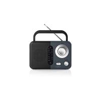 Rádio NEDIS RDFM1300GY BLACK/GREY