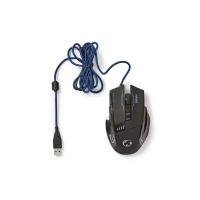 Myš drátová NEDIS GMWD300BK