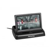 """Monitor výklopný do auta pro kamery se zadním výhledem LCD 4,3"""" PY0107"""