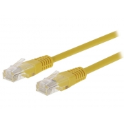 Kabel UTP 1x RJ45 - 1x RJ45 Cat5e 3m YELLOW VALUELINE VLCT85000Y30