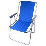 Židle kempingová skládací BERN modrá, CATTARA