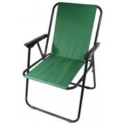 Židle kempingová skládací BERN zelená, CATTARA