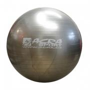 Míč gymnastický 750mm stříbrný S3213