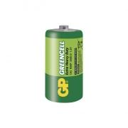 Zinkochloridová baterie GP Greencell R20 (D) fólie