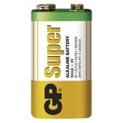 Alkalická baterie GP Super 6LF22 (9V), blistr