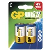 Alkalická baterie GP Ultra Plus LR14 (C), blistr