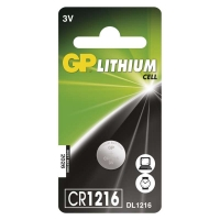 Lithiová knoflíková baterie GP CR1216