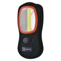 COB LED + LED pracovní svítilna P3883, 150 lm, 3× AAA