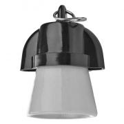 Objímka na žárovku E27 plastová 1332-407, háček