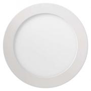 LED panel 170mm, kruhový přisazený bílý, 12W teplá bílá